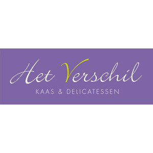 Het Verschil Kaas en Delicatessen logo