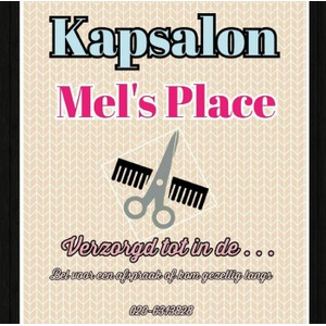 Kapsalon Mel's Place logo