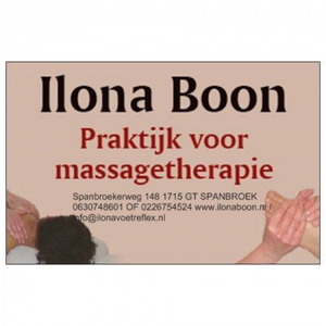 Ilona Boon Massagetherapie logo