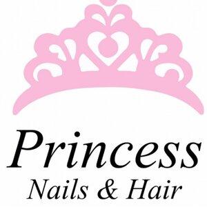 Princess Nails & Hair logo