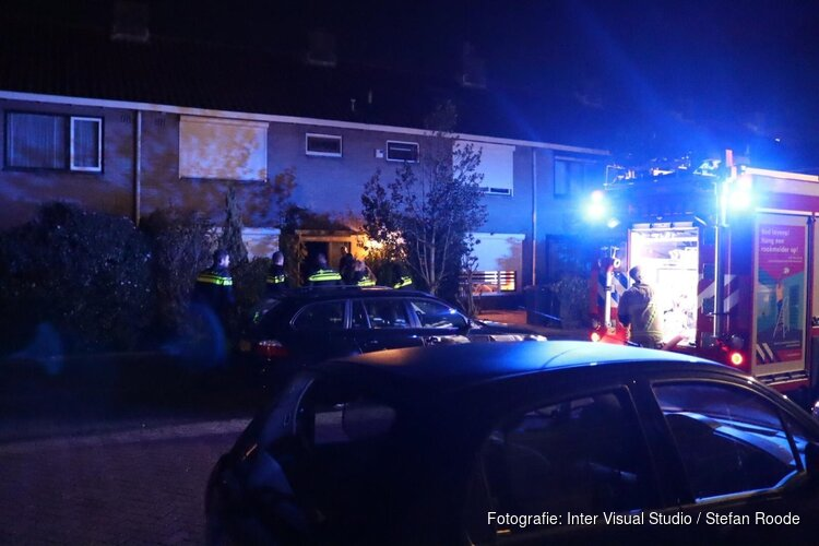 Brand in woning Purmerend