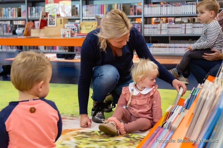 Spelenderwijs taal ontdekken komend weekend in de Bibliotheek Waterland