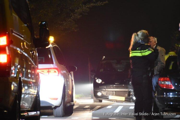 Auto's botsten in Purmerend, kinderen betrokken