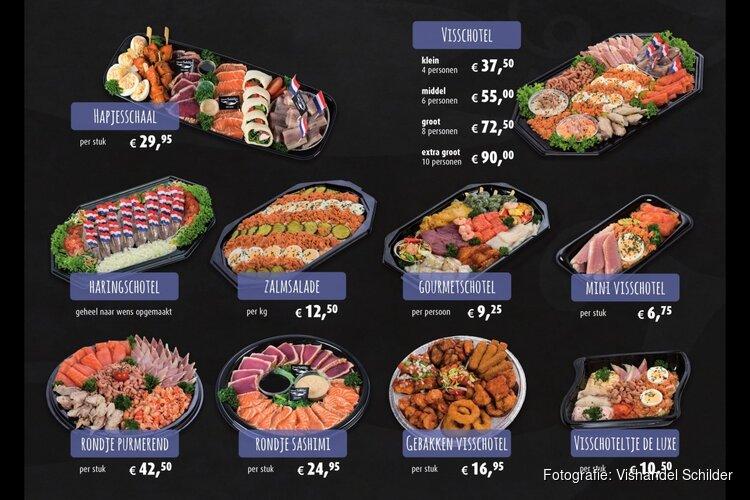 De decembermaand bij Vishandel Schilder