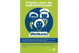 Wijkwethouder Van Meekeren houdt spreekuur in Weidevenne