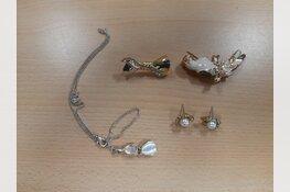 Gestolen sieraden aangetroffen ten gevolge van insluipingen