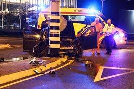 Gewonde bij eenzijdig ongeval Edisonweg