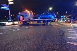Twee auto's total loss bij ongeval