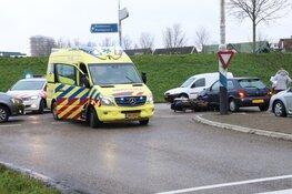 Motorrijder gewond in Zuidoostbeemster