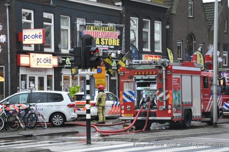 Brand in centrum Purmerend