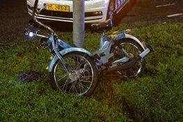 Bromfietser aangereden in Westbeemster