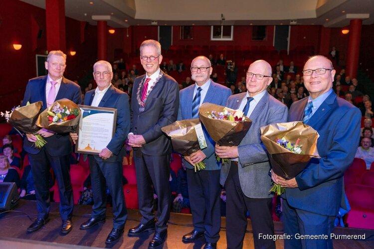 Gouden Waarderingsspeld voor Stichting Veteranen Purmerend