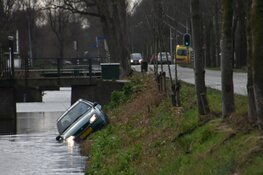 Auto in sloot Middenbeemster