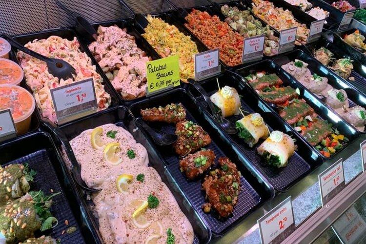 Diverse kant- en klaarmaaltijden uit eigen keuken bij Vishandel Sier & Jonk