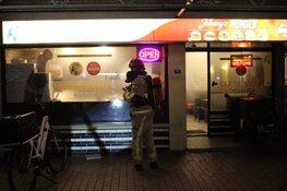 Shoarma vat vlam in grillroom Purmerend