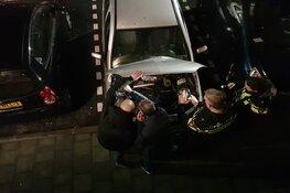 Auto raakt total loss door explosief of vuurwerk