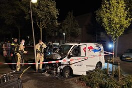 Auto's in brand in Purmerend