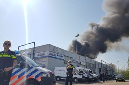 Grote brand in Purmerend