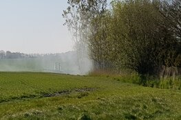 Brand bij boerderij Noordbeemster