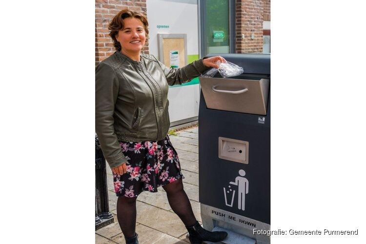 Mr. Fill: duurzame afvalbakken in de binnenstad