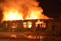 Tweedehands huisraad voor vluchtelingen en minder bedeelden in vlammen opgegaan bij brand Purmerend