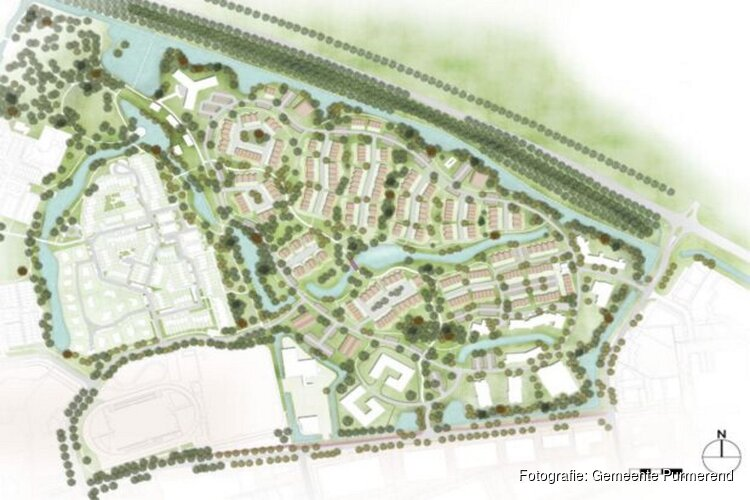 Plan voor 340 woningen in Kwadijkerpark
