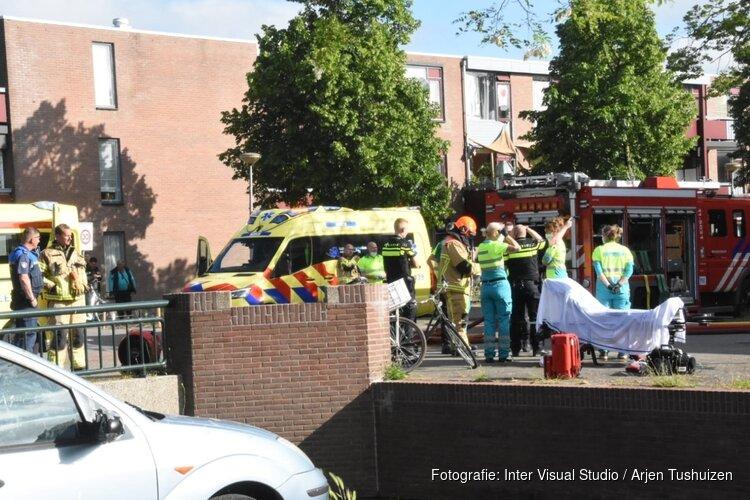 Dode bij woningbrand Purmerend: 'Vlammen kwamen uit huis slachtoffer'