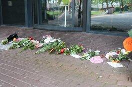 Bloemen als alternatief protest tegen coronamaatregelen
