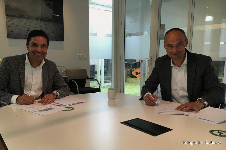 Wooncompagnie en Bot Bouw ondertekenen aannemingsovereenkomst voor nieuwbouw 70 sociale huurwoningen