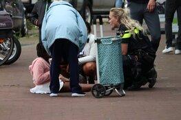 Kind op stoep aangereden door scooter in Purmerend