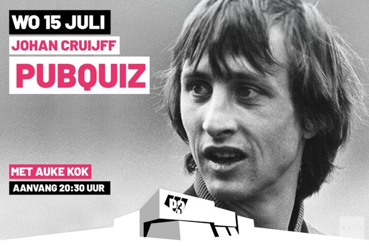 P3 organiseert Johan Cruijff Pubquiz op 15 juli