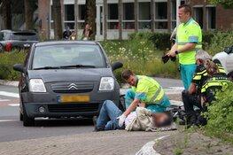 Fietser gewond na aanrijding