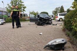 Auto's total loss bij ongeval Purmerend