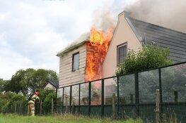 Grote brand in vrijstaande woning Zuidoostbeemster