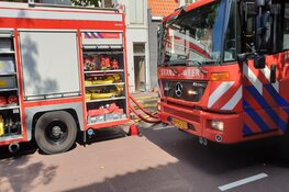 Wéér brand in binnenstad Purmerend