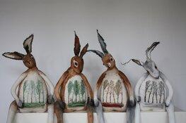Nieuwe Purmerendse kunstenaars in etalage VVV | Purmerends  Museum