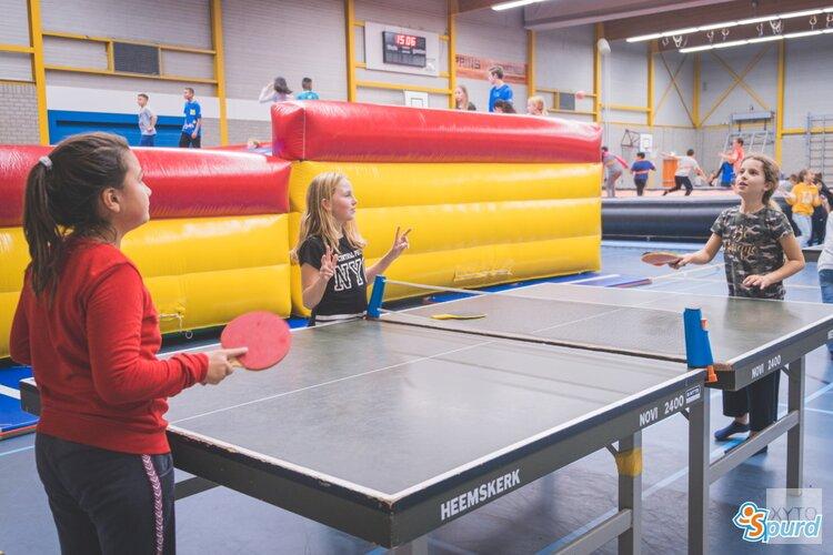 Sportieve activiteiten van Spurd in PurVak in de herfstvakantie