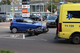 Motorrijder gewond in Purmerend