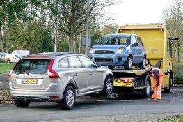 Aanrijding tussen twee auto's in Purmerend