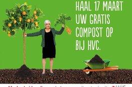 Gratis compost scheppen bij HVC op 17 maart