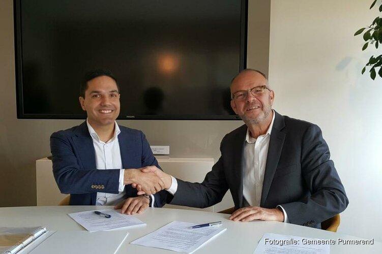 Overeenkomst voor bouw 30 sociale huurwoningen Drontermeer