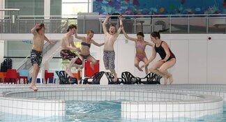 Recreatiebad Leeghwaterbad in vakantieweek alle middagen open