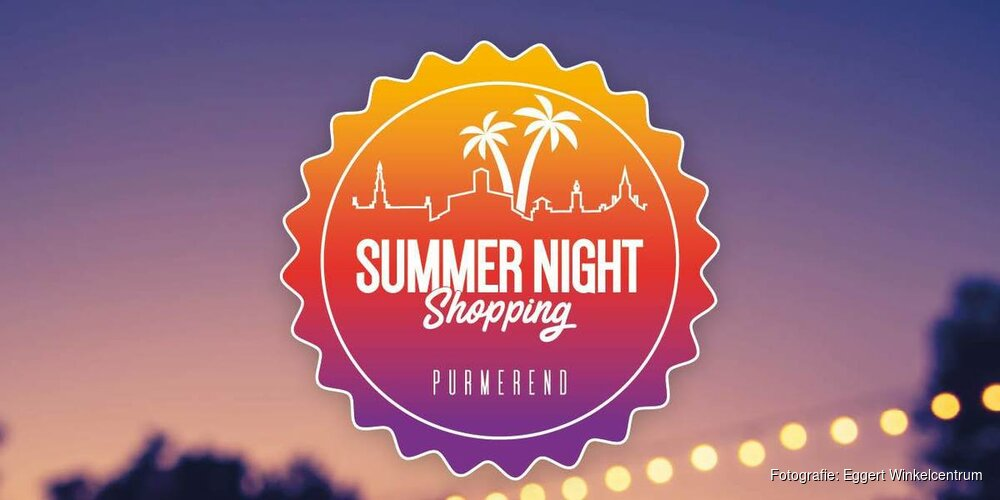 Summer Night Shopping in Purmerend
