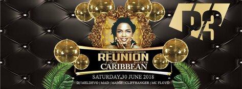 Reunion invites Club Carribean zaterdag 30 juni in P3