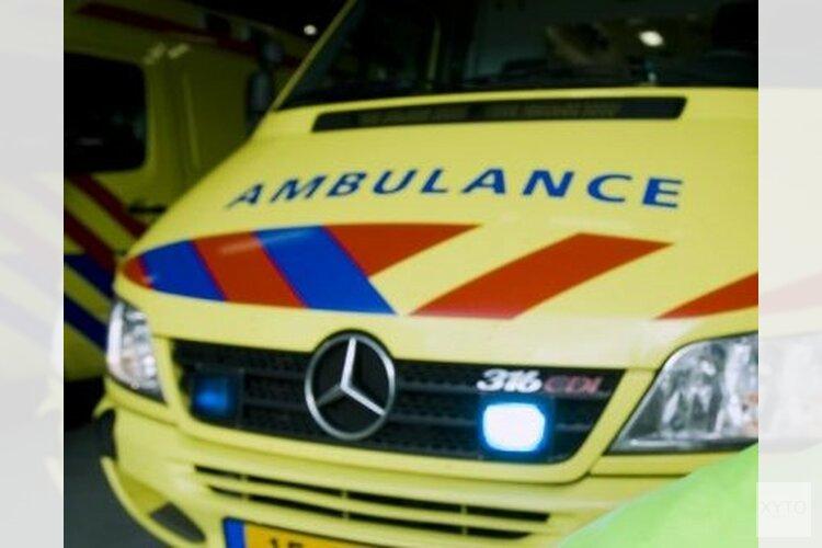 Scooterrijder gewond na botsing met bestelbus in Purmerend