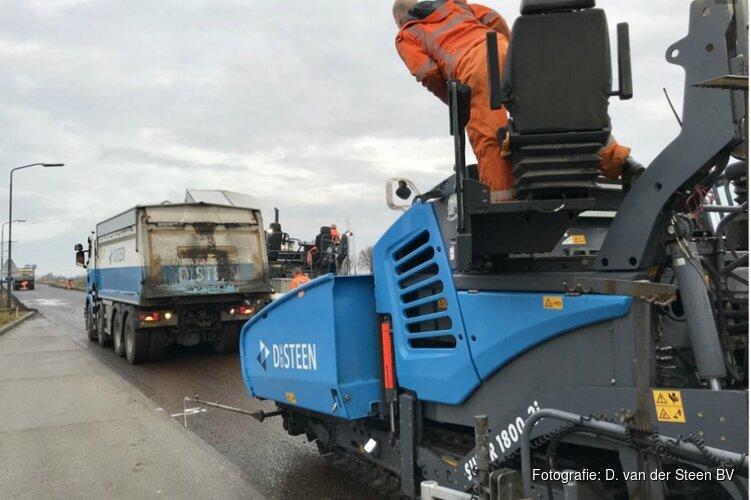 Herstelwerkzaamheden aan Purmerends asfalt
