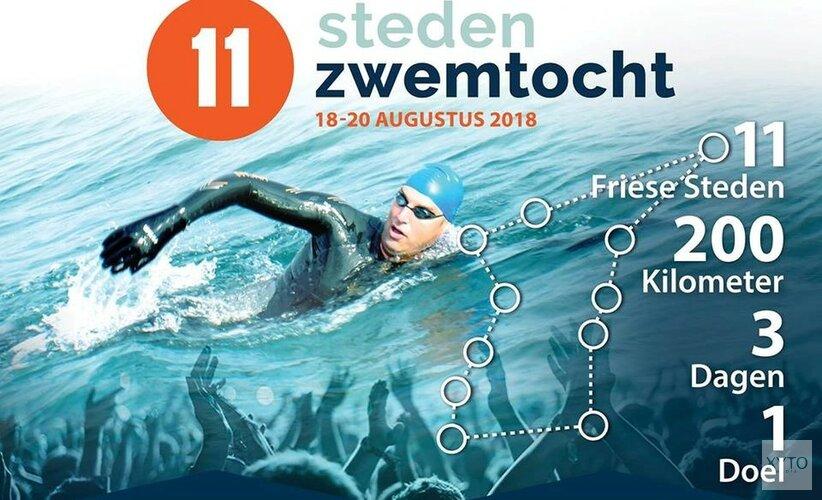 Docu over epische zwemtocht van Maarten van der Weijden op Ziggo Sport