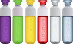 Leerlingen Martin Luther Kingschool gaan water drinken uit Dopper waterfles