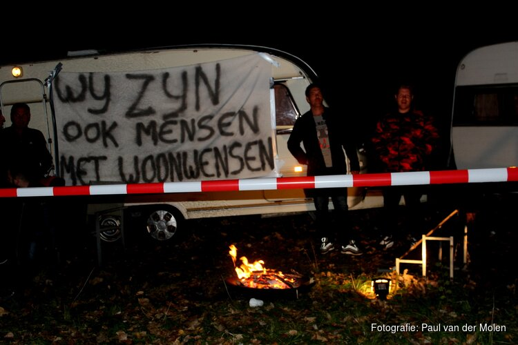 Landelijke actie woonwagenbewoners nu ook in Heerhugowaard van start