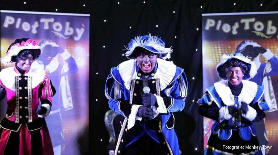 Mega Piet Toby show met disco bij Monkey Town Purmerend
